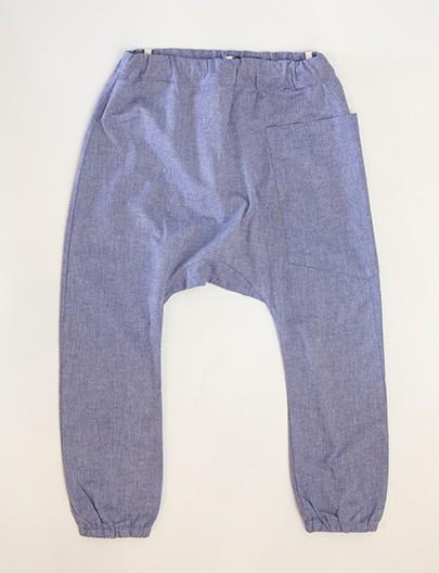 Calça Lino Azul