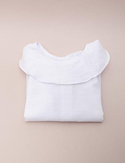 Camisa Bic branca