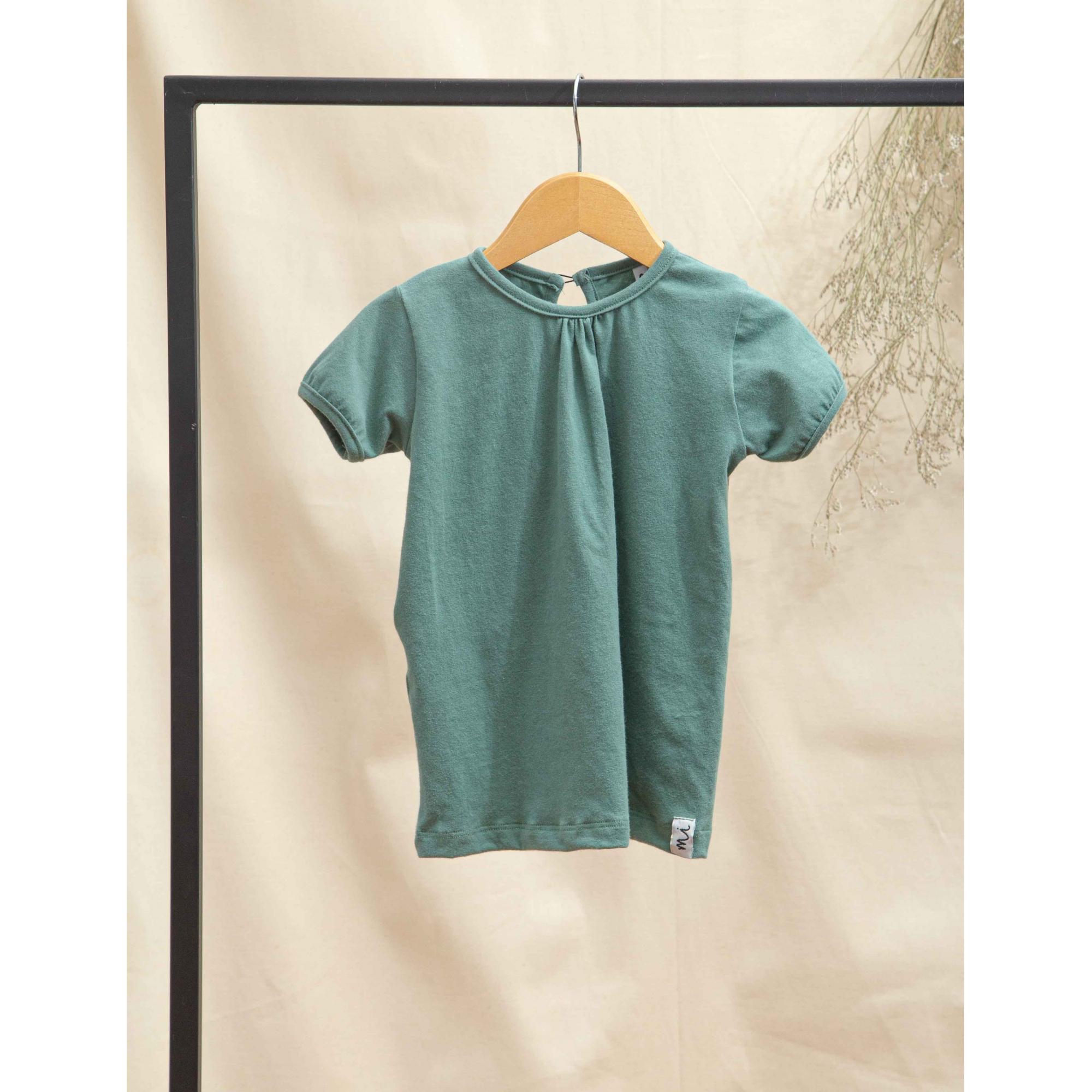 Camiseta Malha Verde