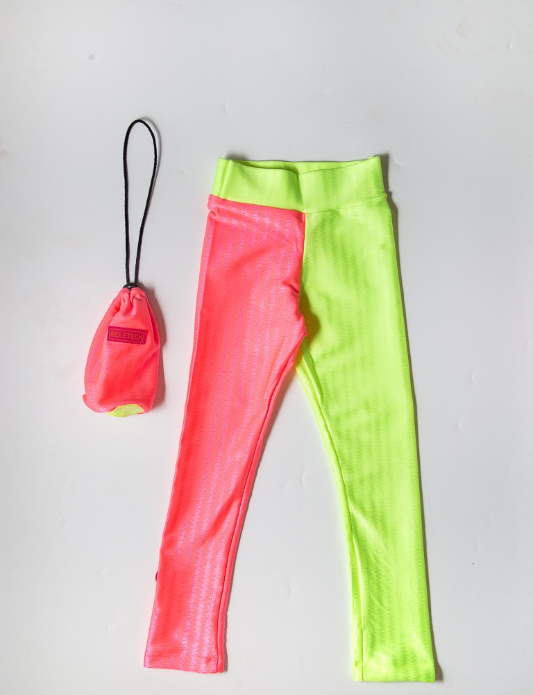 Legging Reletech Neon Ros+Ver