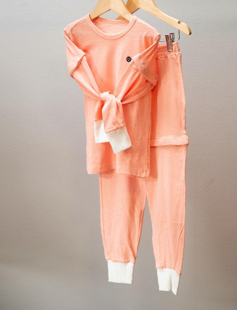Pijama 4 em 1 Peach
