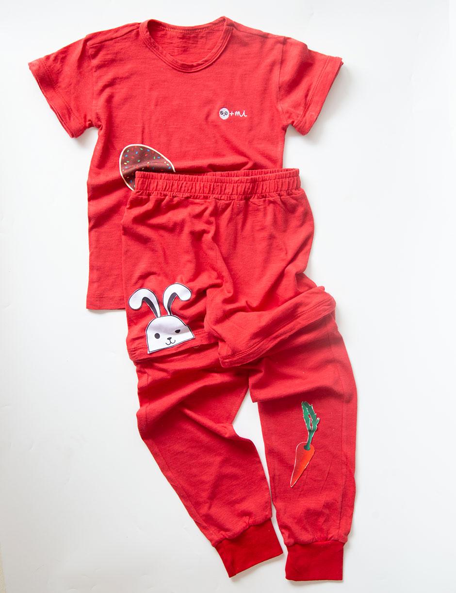 Pijama 4 em 1 Red