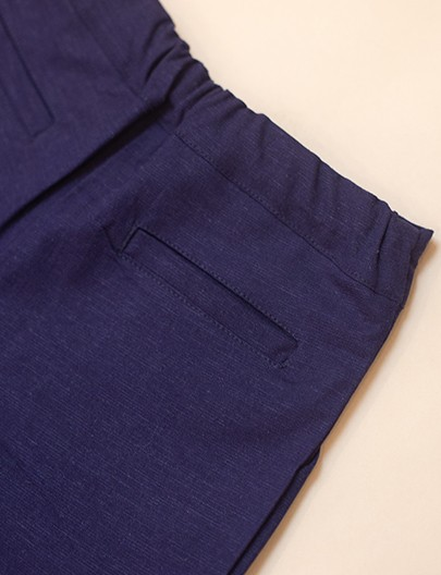 Short lino Marinho