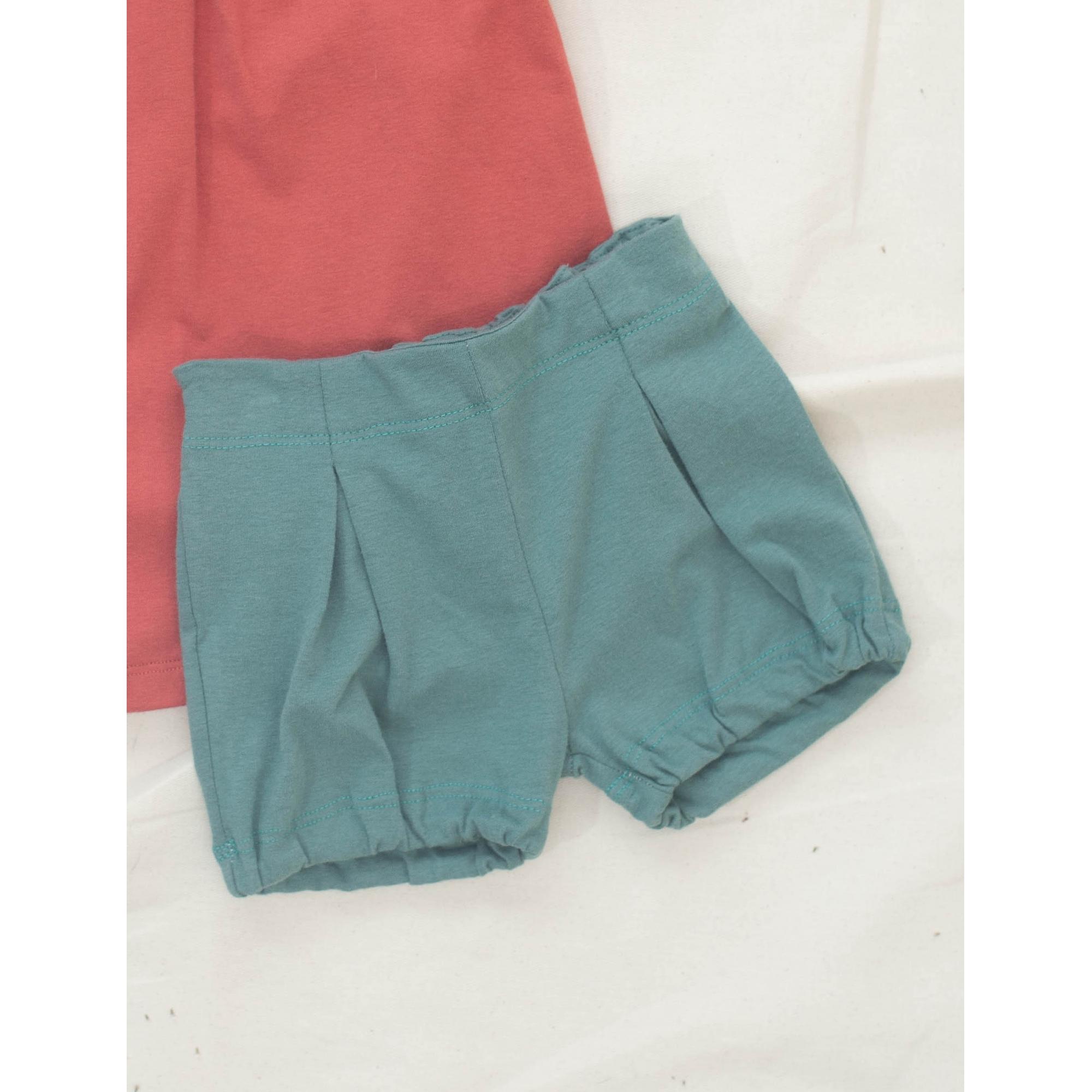 Short Malha Verde