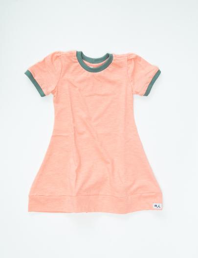 Vestido Amado Peach green