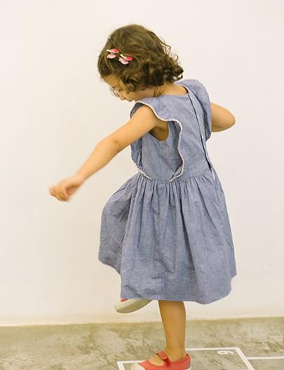 Vestido Bailarina Azul