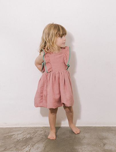 Vestido Bailarina Rosê