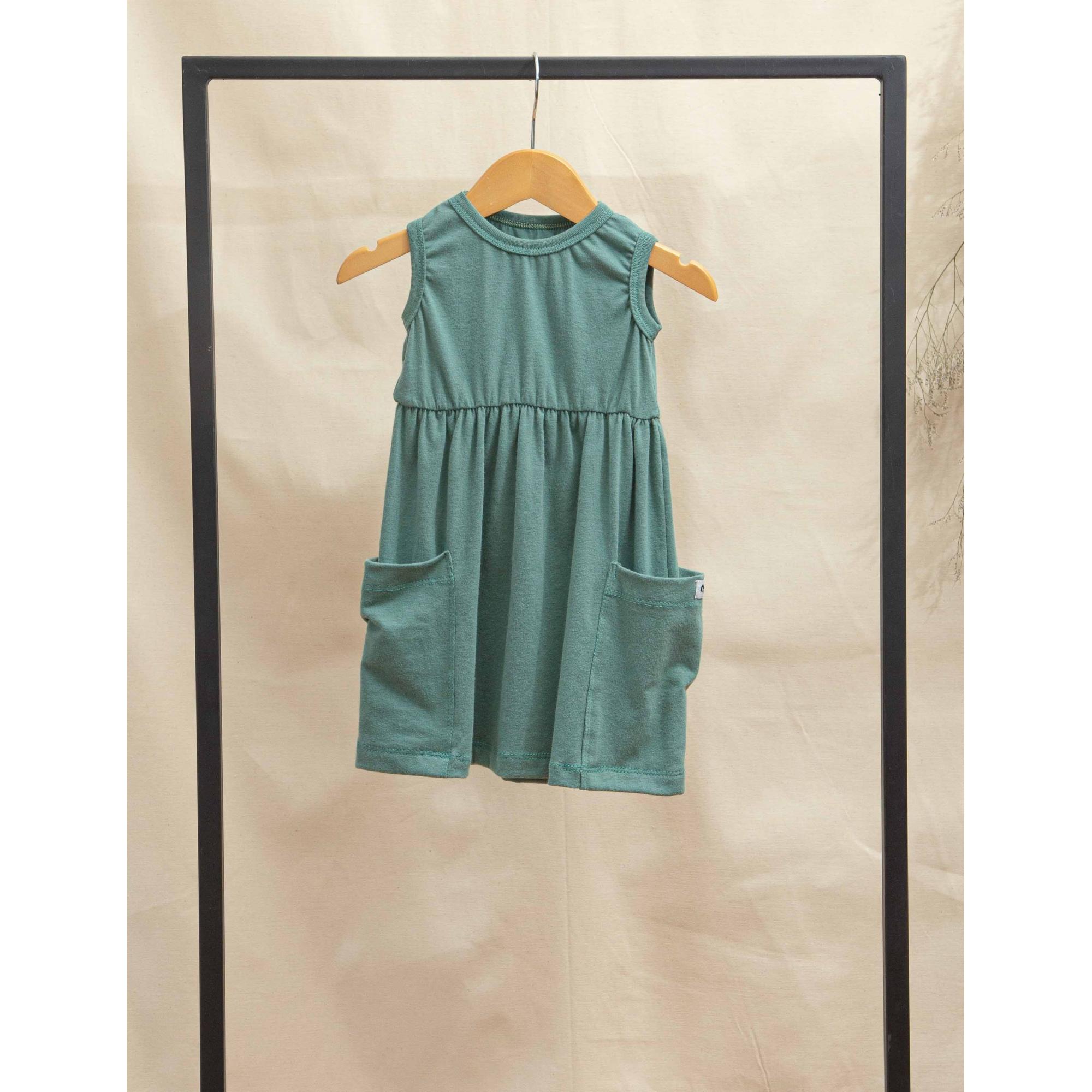 Vestido Bolso Verde