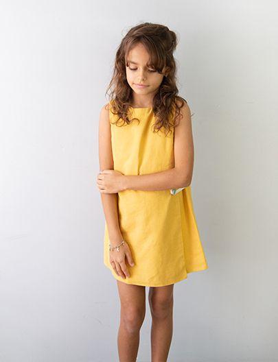 Vestido Envelope Mostarda
