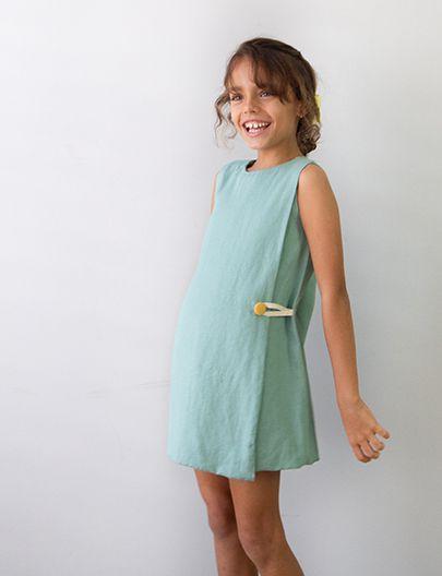 Vestido Envelope Verde