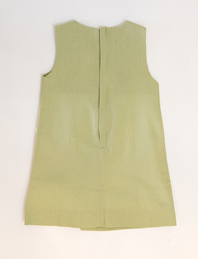 Vestido Envelope Verde oliva