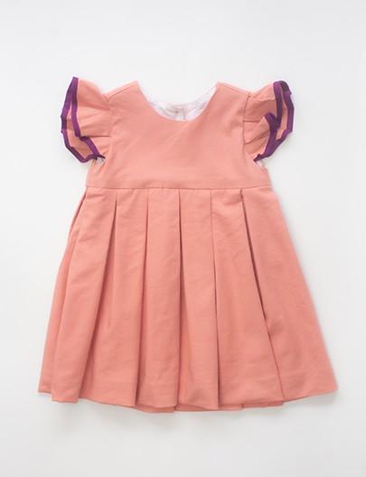 Vestido Giro Coral roxo