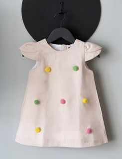 Vestido Pompom Rosa