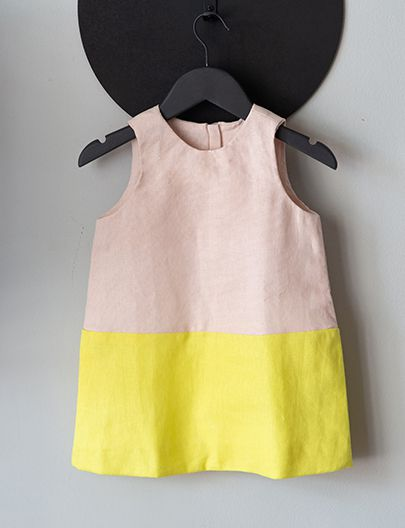Vestido Pratico Rosa Amarelo