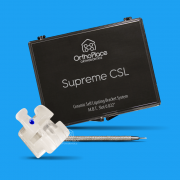 Bráquete Autoligado Cerâmico Supreme CSL MBT Slot 0,022