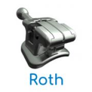 Bráquete Metálico Autoligado Passivo Supreme SL Roth Slot 0,022