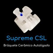Reposição Bráquete Autoligado Cerâmico Supreme CSL MBT Slot 0,022