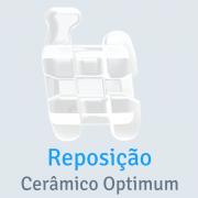"""Reposição Bráquete Cerâmico Optimum Roth Slot 0,022"""""""
