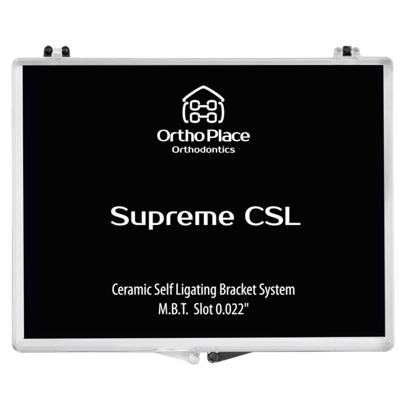 Bráquete Cerâmico Autoligado Supreme CSL MBT Slot 0,022