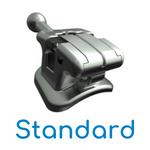 Bráquete Metálico Autoligado Passivo Supreme SL Standard Slot 0,022