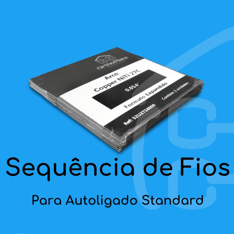 Sequência de Arcos para Bráquete Autoligado Supreme SL Standard