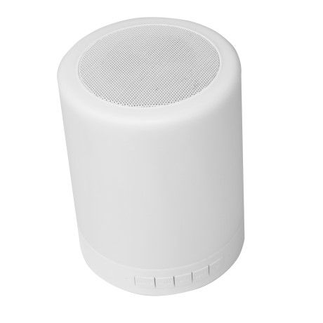 CAIXA DE SOM BLUETOOTH COM LAMPADA LED SP-BL1000WH