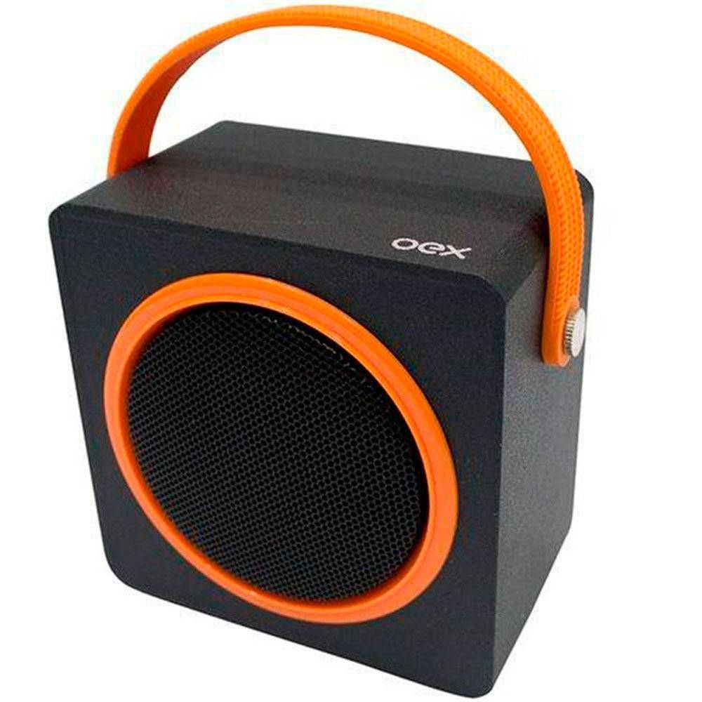 CAIXA DE SOM BLUETOOTH OEX SK-404 10W COLOR BOX LARANJA