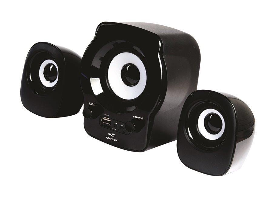 CAIXA DE SOM C3TECH 2.1 SP-10BK FM/SD/USB