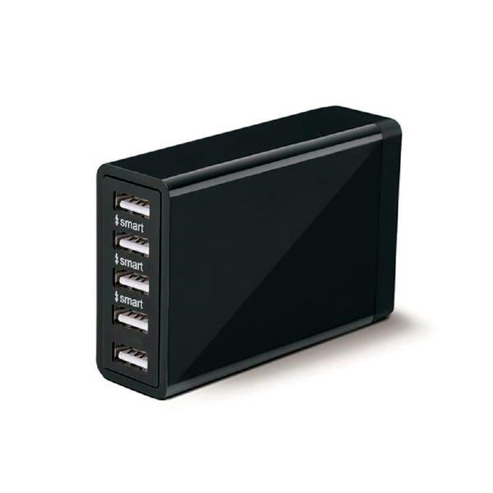 CARREGADOR MULTILASER 5 USB CB124