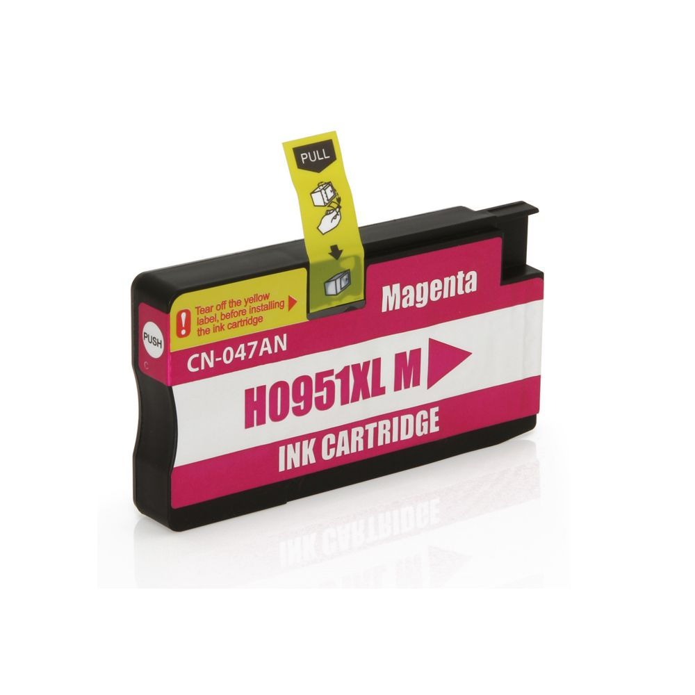 CARTUCHO COMPATIVEL HP 951XL CN047A 30M MAGENTA
