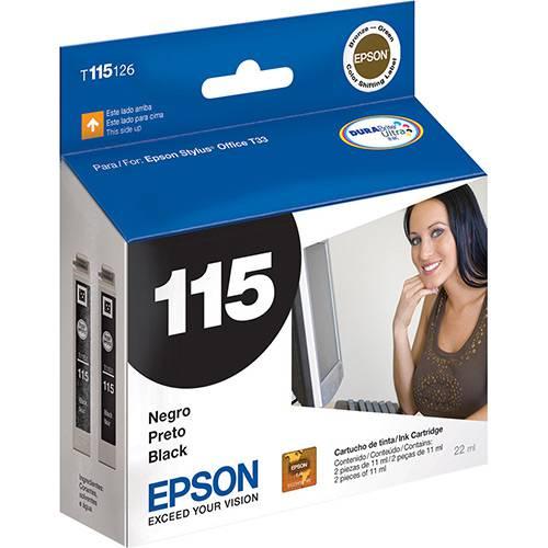 CARTUCHO ORIGINAL EPSON T115126 PRETO