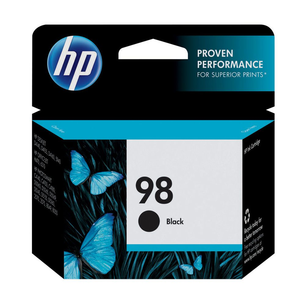 CARTUCHO ORIGINAL HP 98 C9364WB PRETO