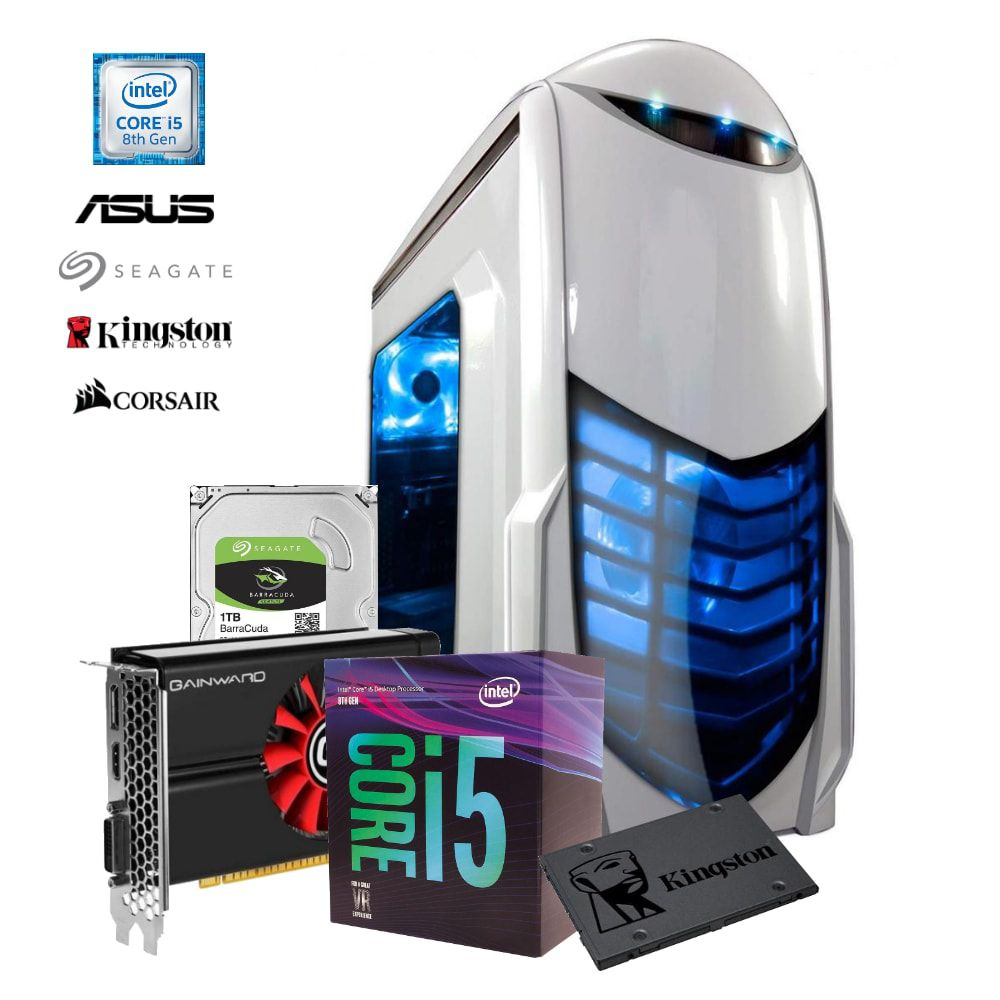 Computador ADVANCED i5-8400, GTX 1050, RAM 8GB, HD 1TB + SDD 120GB