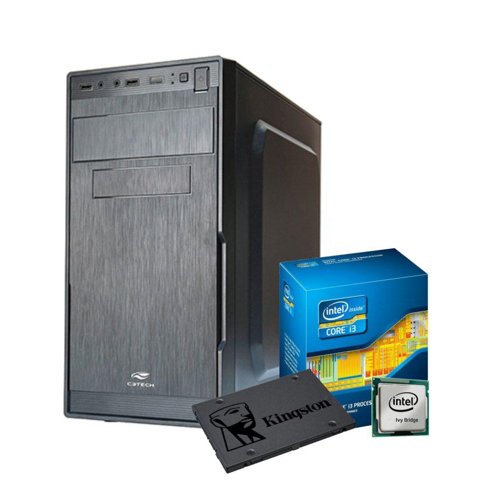 Computador WORK i3-3220, RAM 4GB, SSD 120GB