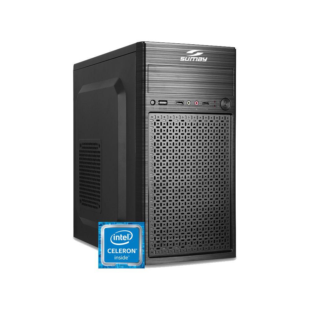 Computador WORK Processador Celeron + 4GB + 500HD
