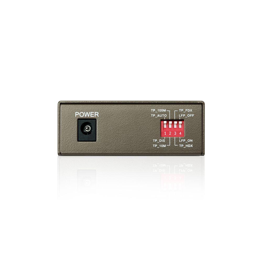 CONVERSOR DE FIBRA OPTICA TP-LINK MC111CS MONOMODO 10/100 MBPS  - TPL0343
