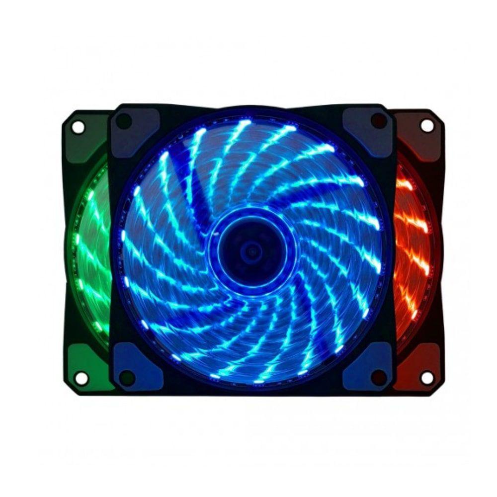 COOLER PARA GABINETE RBG BULK BLUECASE 120X120MM BF-06RGB