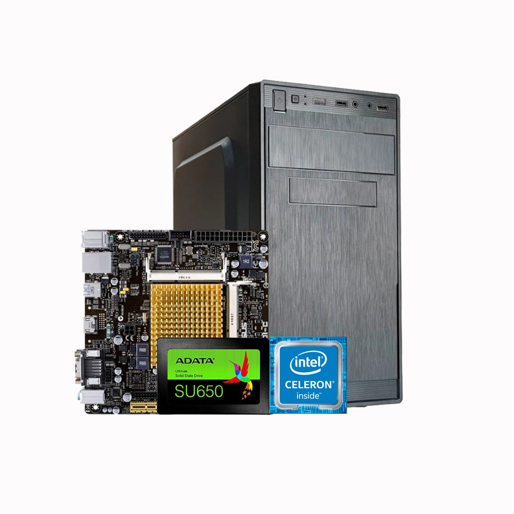 CPU Work PLACA MAE ASUS (INTEL) CELERON J1800I-C/BR + 4Gb + SSd 240