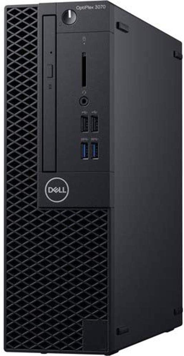 DESKTOP DELL OPTIPLEX 3070 SFF CORE I5-9500 8GB RAM  SSD 256GB WIN 10 PRO  MICROCOMPUTADOR