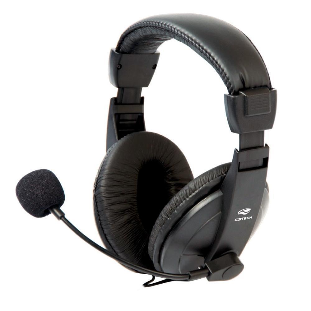 FONE HEADSET COM MICROFONE C3TECH VOICER COMFORT MI-2260ARC