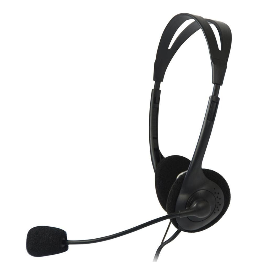 FONE HEADSET COM MICROFONE C3TECH VOICER LIGHT PRETO CT662040BK