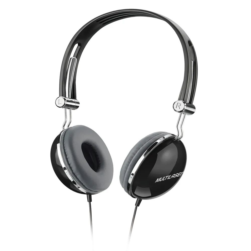 FONE HEADSET COM MICROFONE MULTILASER PH053