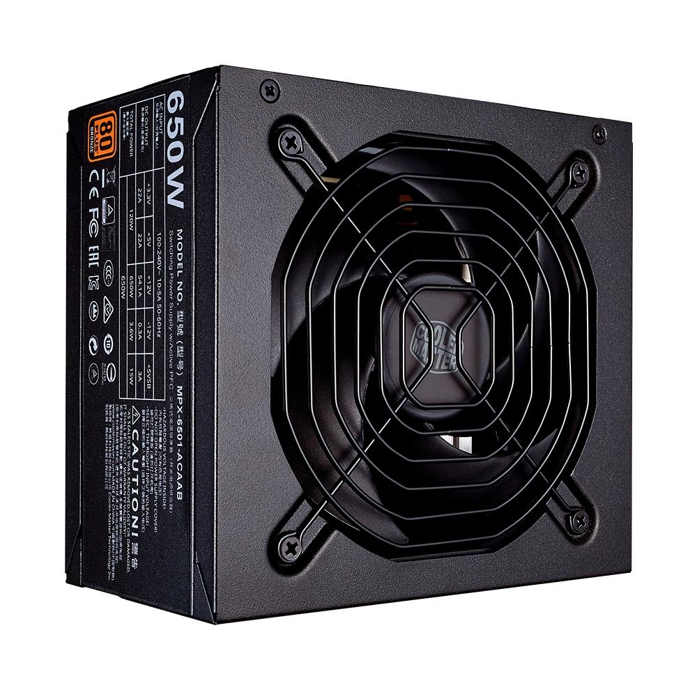 FONTE ATX COOLER MASTER NWE 650W 80 PLUS BRONZE - MPE 6501 ACAABBR