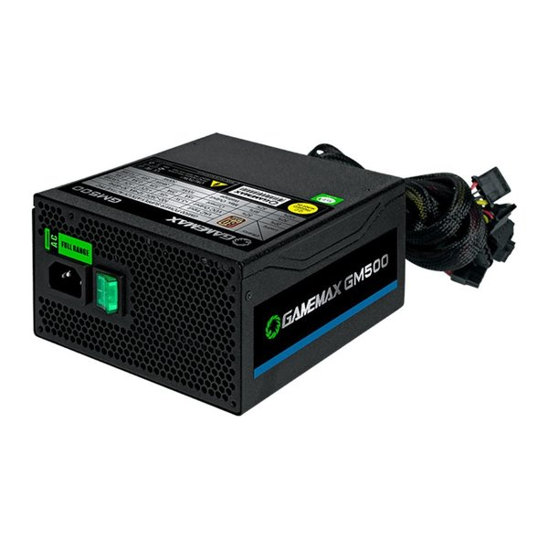 FONTE ATX GAMEMAX  500W REAL - GM500