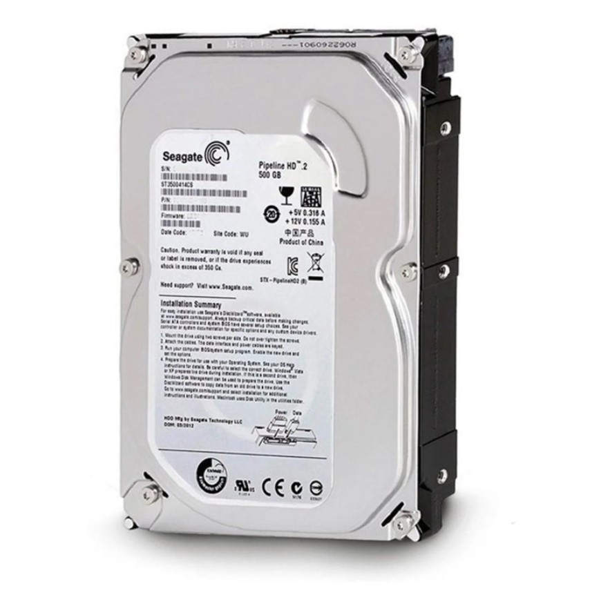 HD INTERNO SEAGATE 500GB PIPELINE SATA2 SLIM ST3500414CS OEM I