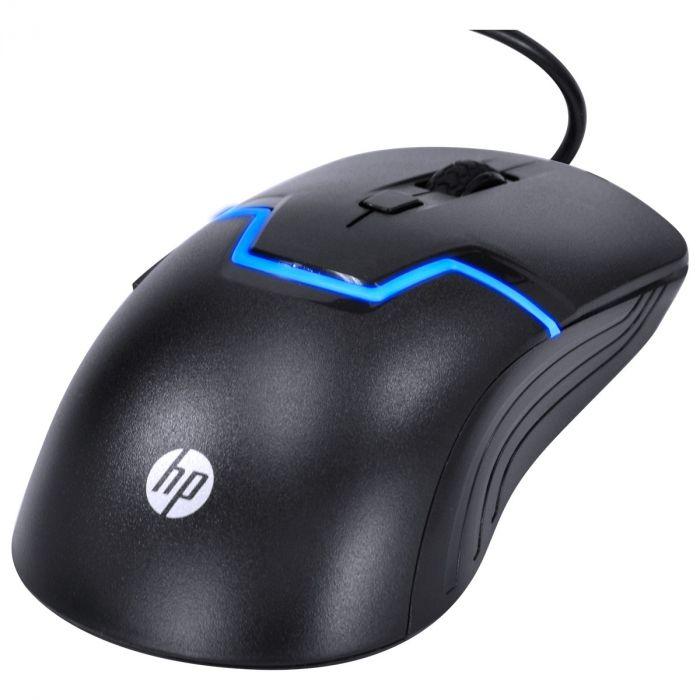 KIT TECLADO E MOUSE HP GAMER - GK1100 BLACK