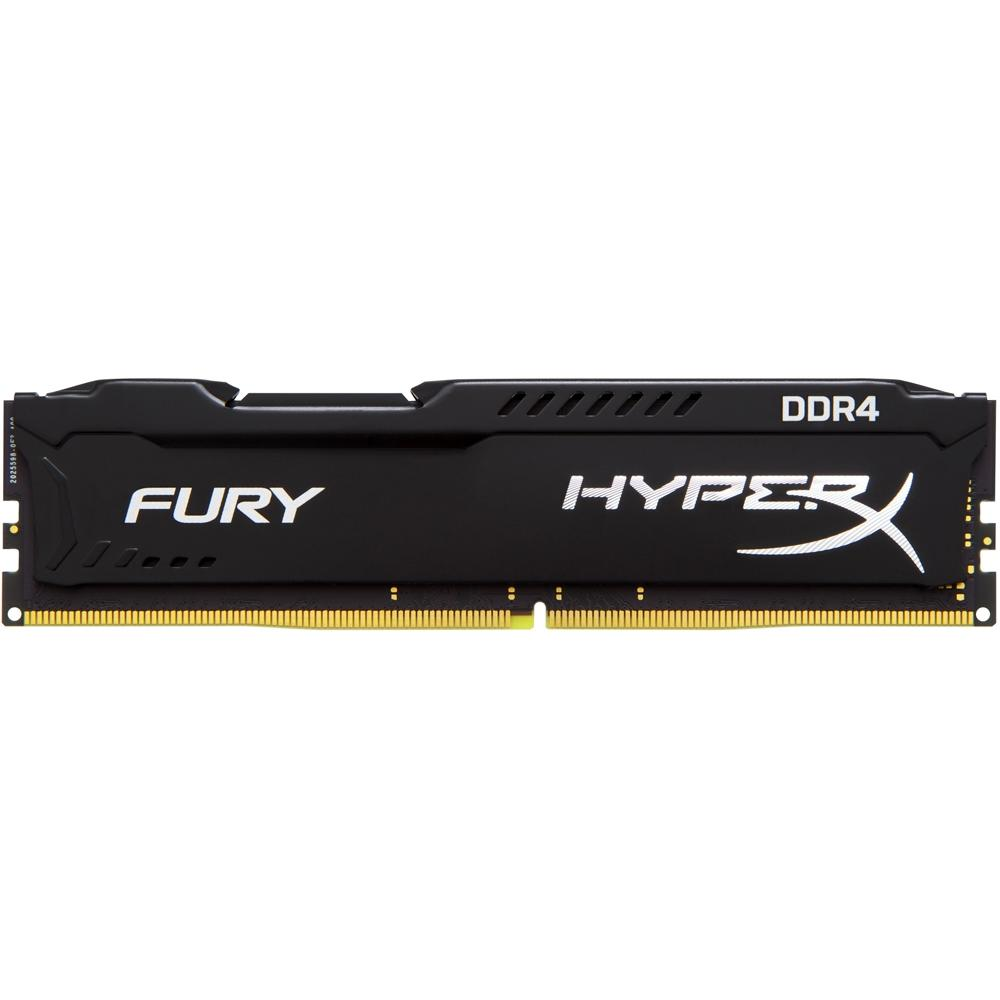 MEMORIA DESKTOP KINGSTON 4GB HYPERX FURY DDR4 2666MHZ PRETO HX426C15FB/4