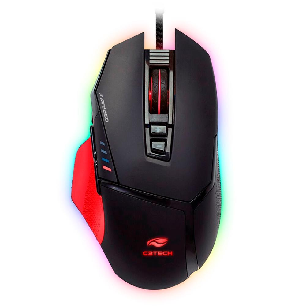 MOUSE GAMER C3TECH USB OSPREY MG-800BK