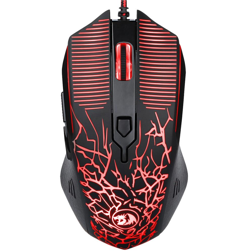 MOUSE GAMER REDRAGON INQUISITOR BASIC PRETO M608 RGB