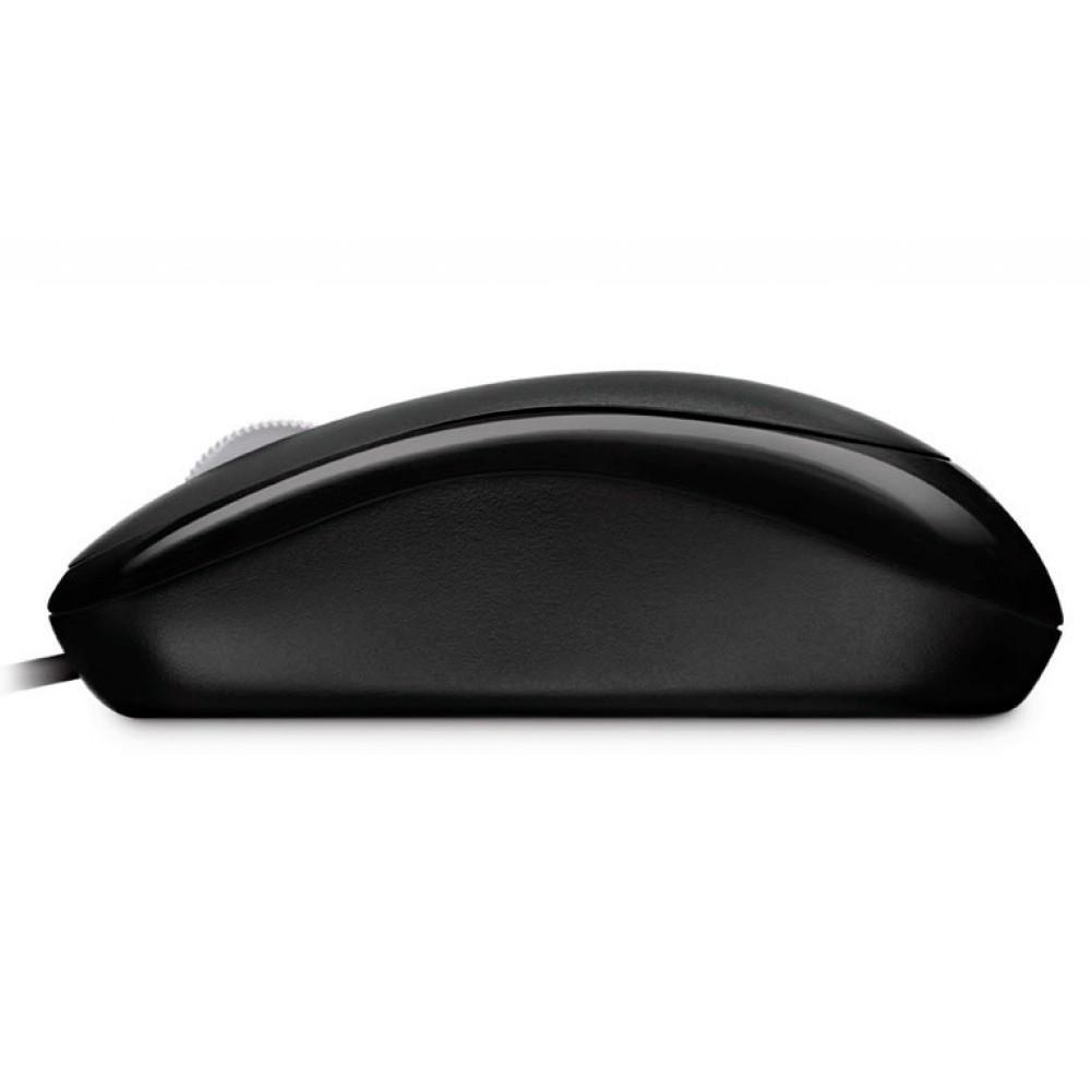 MOUSE MICROSOFT P58 BASIC OPTICO PRETO USB - P58-00061